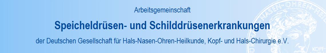 Arbeitsgemeinschaft Speicheldrüsen- und Schilddrüsenerkrankungen